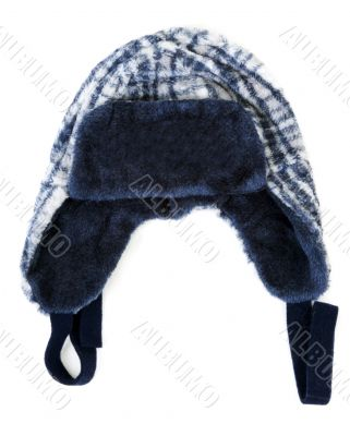 Baby warm hat on insulated