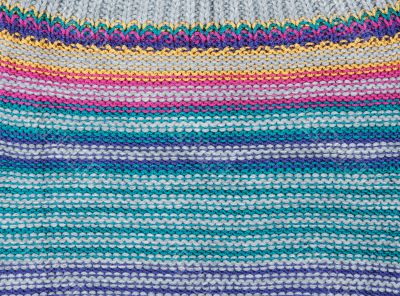 Background from knitted colors fabrics