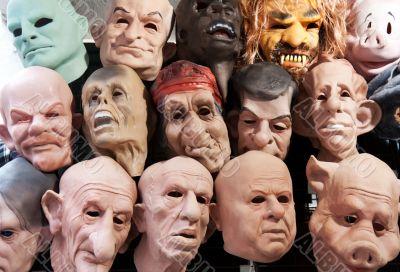 Rubber masks