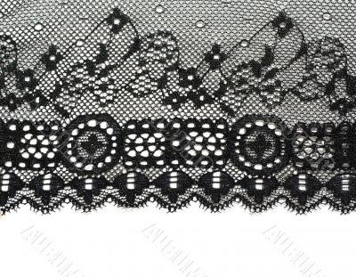 Decorative white lace