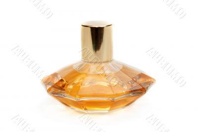 Yellow perfume bottle