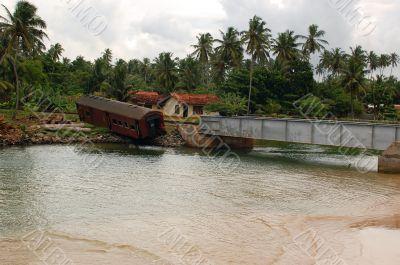 Post-tsunami Landscape in Sri Lanka