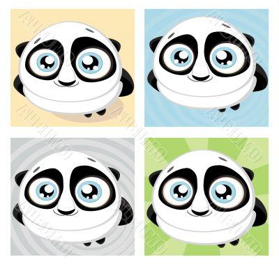 Vector panda