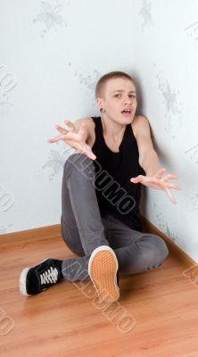 afraid teenager