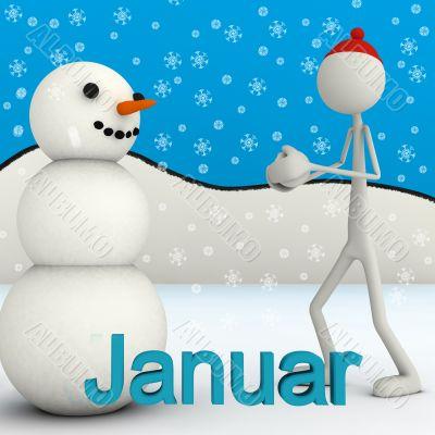 stickman - January