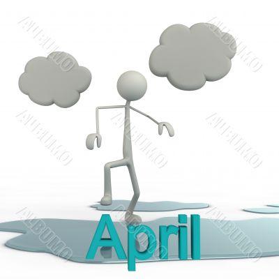 stickman - April