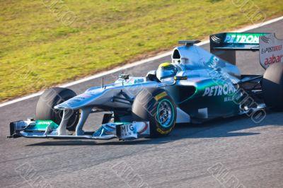 Team Mercedes F1, Nico Rosberg, 2011