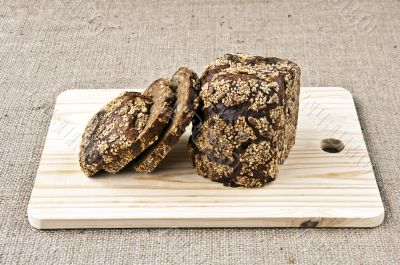 rye bread and cereals