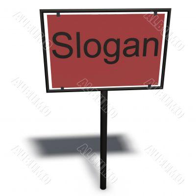slogans sign