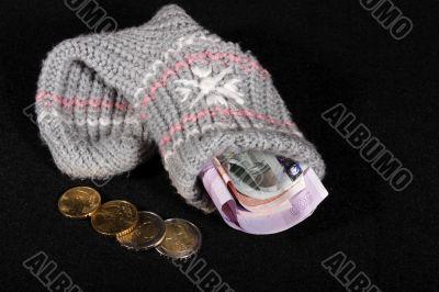 EURO's in sock