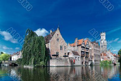 Belgium,old Brugge canal