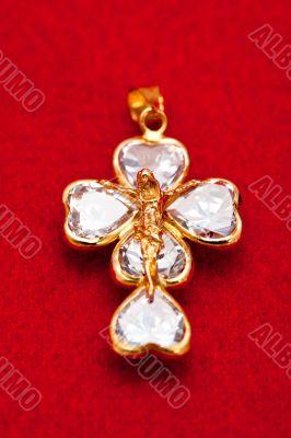 Pendant of a crucifix