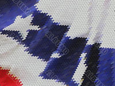 US Flag ~ Abstract Effect