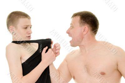 The aggressive father