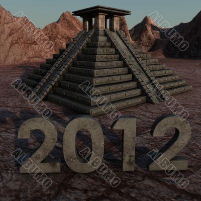 Mayan Pyramid 2012