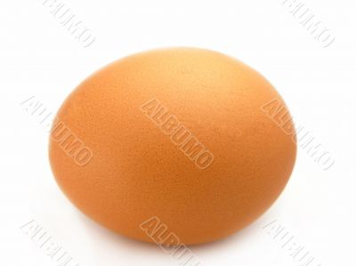 Eggs home, isolated on a white background