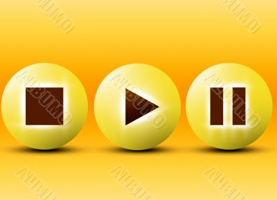 buttons for player