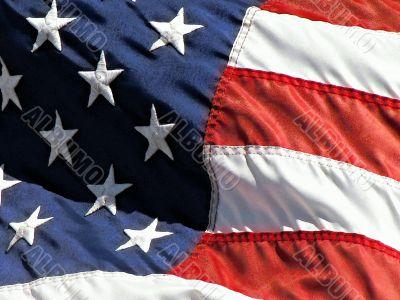 US Flag Watercolor Effect