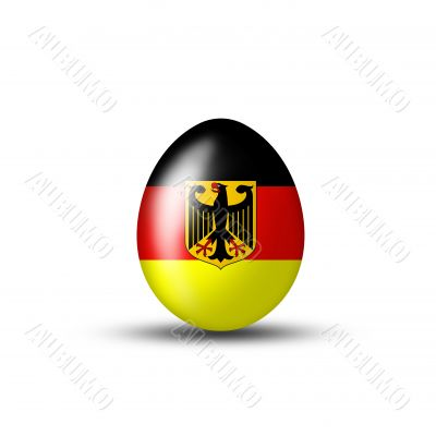 Egg with the German coat of arms