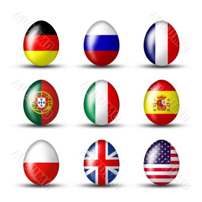 Egg collection from many countries