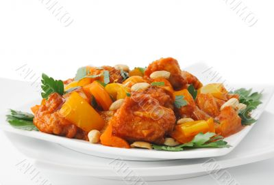 Pork in Batter Sweet and sour sauce