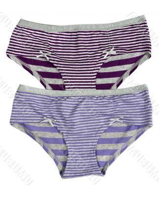 purple striped pants
