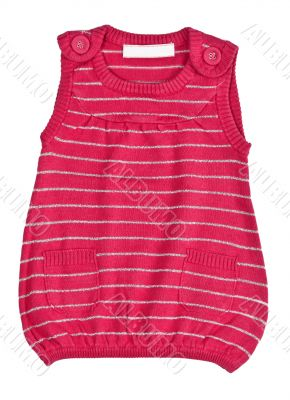 child red striped sweater