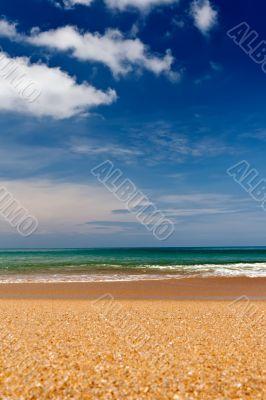 sandy beach