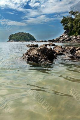 island on the beach in Kata Phuket