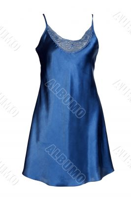 Dark Satin Women`s nightgown