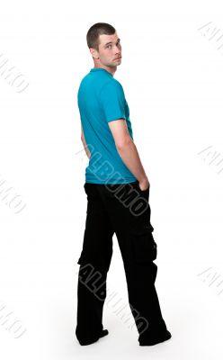 man in a full-length
