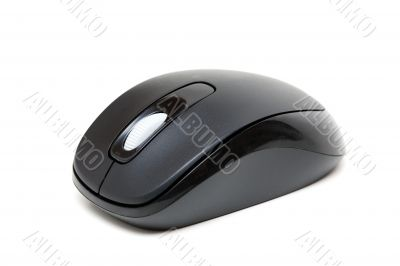 Black wireless mouse for your computer