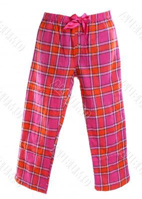 plaid pajama pants