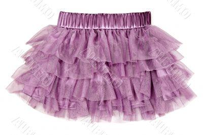 delicate purple skirt