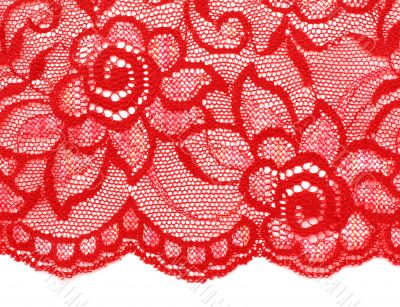 Decorative lace with pattern