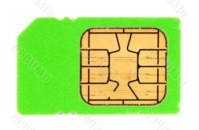 Green SIM card
