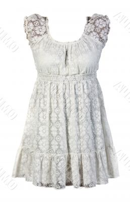 Bright tracery dress
