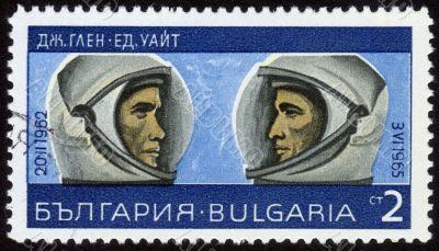 astronauts John Glenn and Ed White