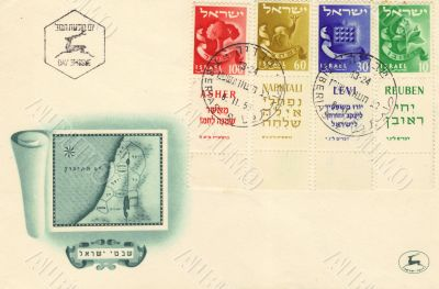 Jubilee mailing envelope