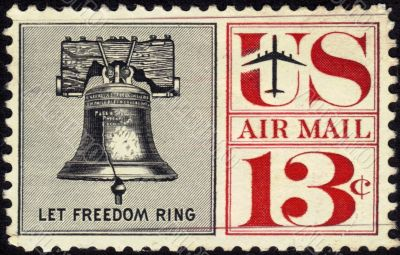 Stamp Let Freedom Ring 13c
