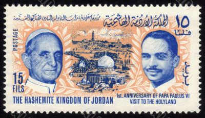 visit of Pope Paul VI to Holy Land