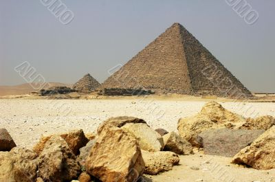 Pyramid in Cairo Egypt