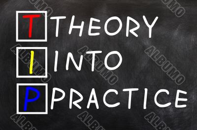 Acronym of TIP for Theory into Practice