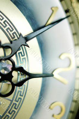 Clock hands, shallow DOF