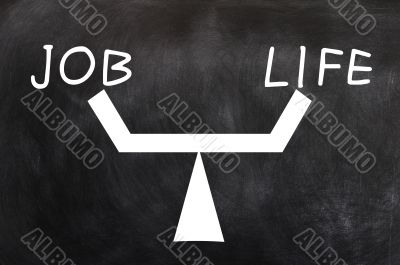 Balance of job and life