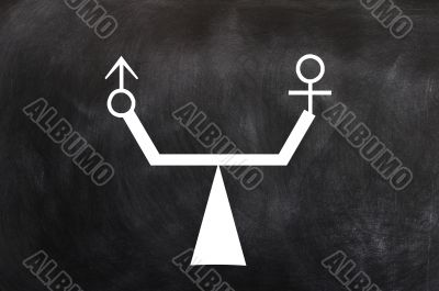 Balance of male and female