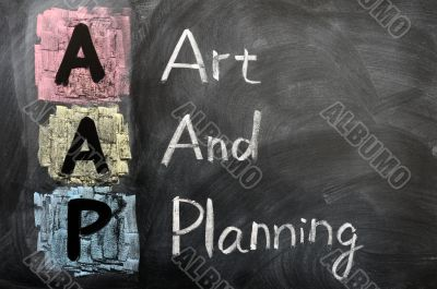 Acronym of AAP for Art and Planning