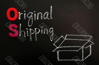 Original shipping