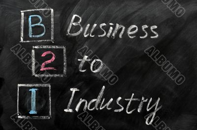 Acronym of B2I - Business to Industry
