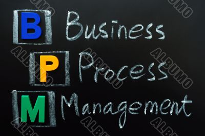 Acronym of BPM - Business Process Management